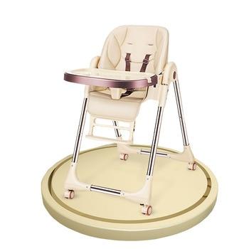 цена на Baby dining chair Folding baby chair Dining table and chair portable dining chair universal four wheel
