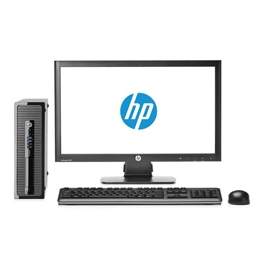 HP Elite 8200-Computer Full Desktop + Screen 22