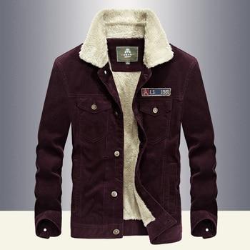 Autumn Winter Mens Jackets And Coats Thick Warm Fleece Coat Men Short Style Wide-waisted Jaqueta Masculina Windbreaker Outwear
