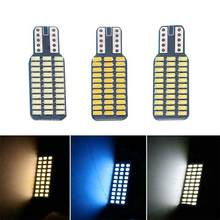 Carro LEVOU Luzes de Advertência Luz Traseira Da Cauda Da Lâmpada Traseira DC T10 192 194 168 W5W 12V Canbus Lâmpadas LED 33SMD 3014 TXTB1