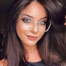 Fashion New retro Cat eye Glasses Frames For Women Transparent Cat Eye Sexy Frame Trending Style Bra