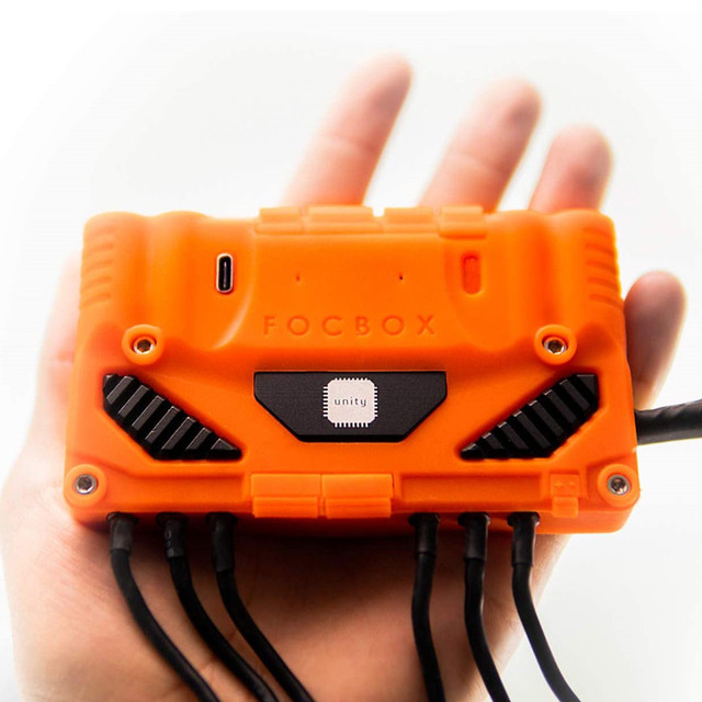 FOCBOX Einheit Motor Controller Leistungsstarke Starten Drehmoment auf Sensorlose Motoren FÜR VERRÜCKT ESK8 LEISTUNG DIY Für Elektrische Skateboard
