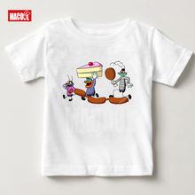 От 3 до 6 лет; Повседневная модная летняя одежда для малышей