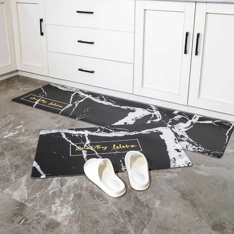 Alfombrillas de cocina de PU para alfombras de cocina esteras de puerta delantera al aire libre esteras de cocina para alfombras de suelo para cocina divertida puerta esteras