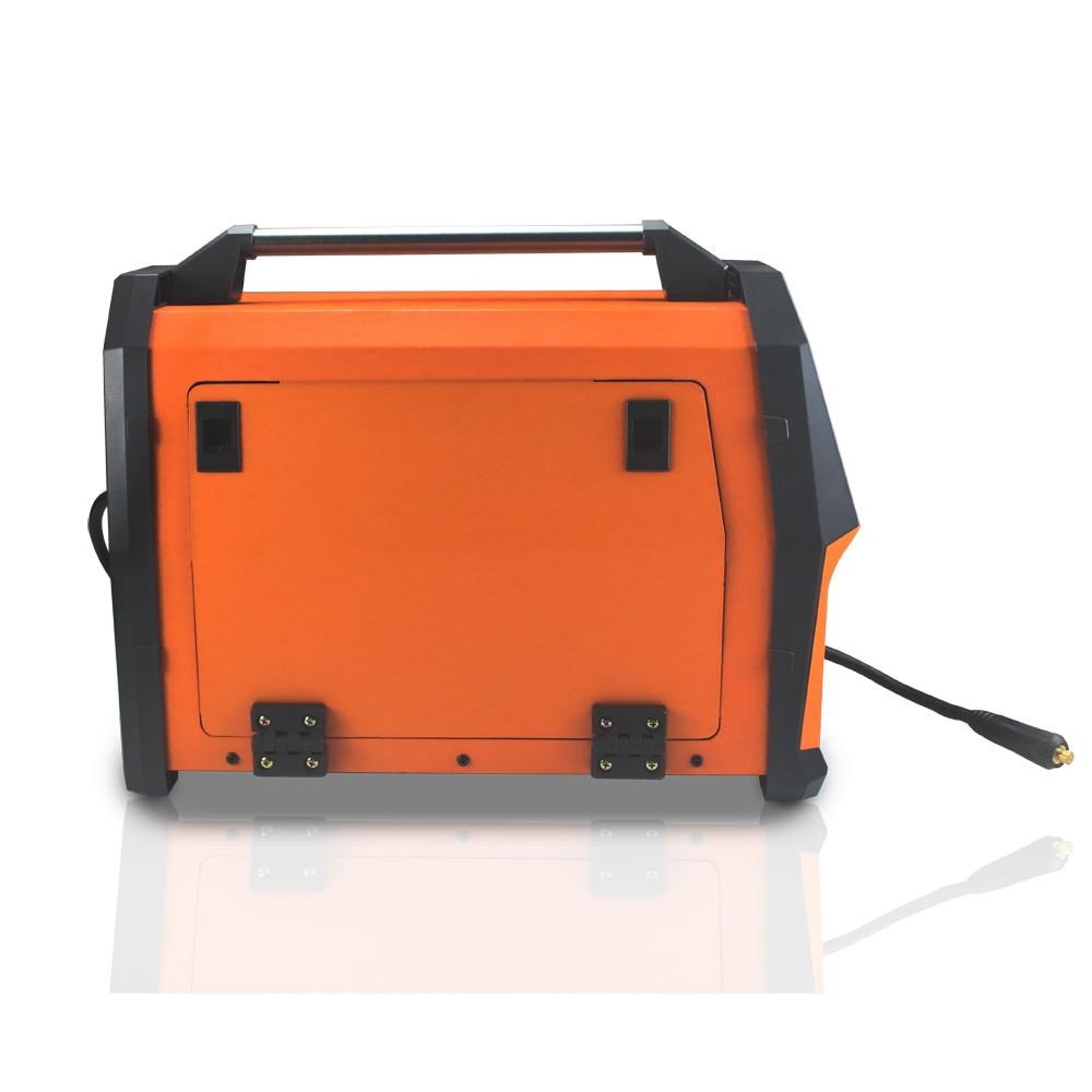 Máquina de soldadura eléctrica por arco 6 en 1, inversor de 220V, pantalla LCD, MIG/MMA/LIFT TIG/PULSE AlMg/AlSi/MIG-200AL