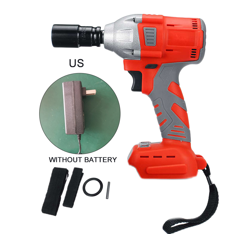 Cordless Electric Impact Wrench Gun Drill Tool Fast Charge  Rechargeable