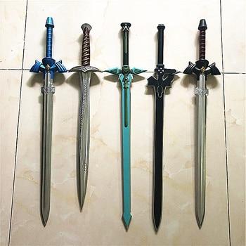 1:1 skysword azul negro Cosplay espada de PU arte SAO Online la Frodo Bolsón espada aguijón