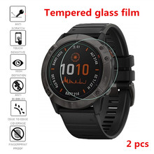 Garmin Fenix 5 5S 6 6S 6X/Vivoactive 3/Forerunner245 945 45 용 HD 강화 유리 보호 필름 Watch Screen Anti-scratch Film(China)