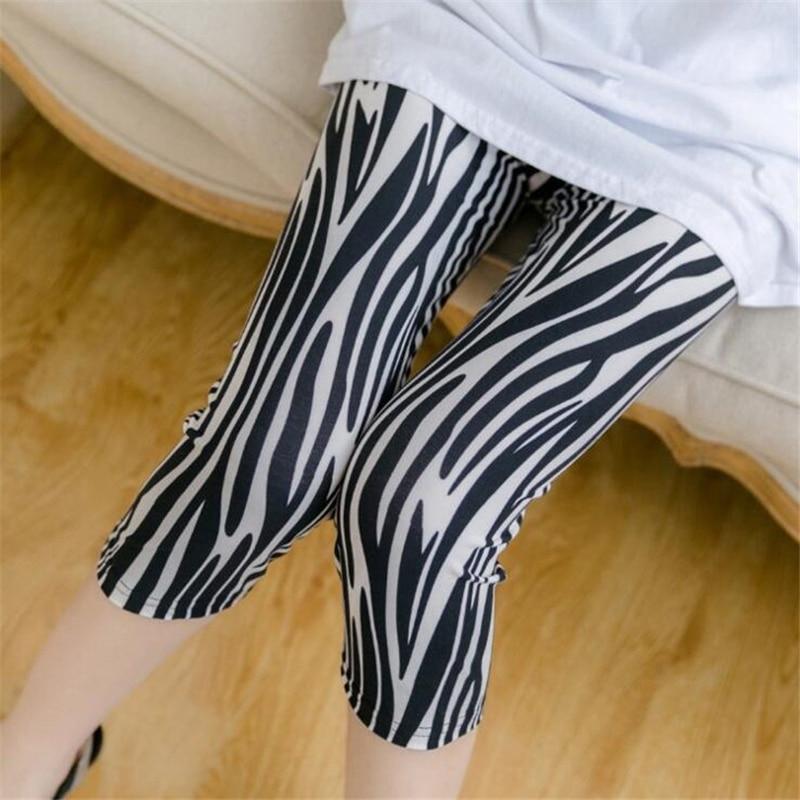 Womens Leggings Summer Floral Printed Legging Letter Stripe Print High Quality Short Gym Push Up Pants Fitness Leggins