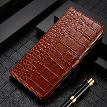 Leather Flip Phone Case For Nokia 1.3 2.1 2.2 2.3 3 3.1 3.2 4.2 5 5.1 6 6.2 7 7.1 7.2 8 8.1 Plus 8.3 9 Case Crocodile Wallet Bag