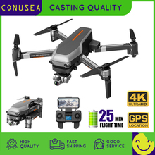 GPS Drone Camera Anti-Shake-Gimbal Rc Quadcopter Brushless-Motor L109 Pro CONUSEA 4K