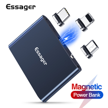 Battery-Charger Power-Bank Magnetic Essager External Micro-Usb Small iPhone 1320mah Portable