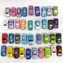 20Pcs Mix shipmet toy cars 3 car diecast Simulated mini taxi metal Car model passat 1:64 wheels tren juguete