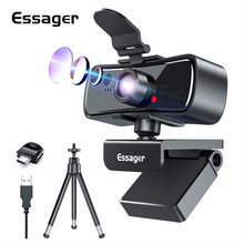 Essager c3 веб камеры 1080p full hd Камера для mac ноутбук компьютер