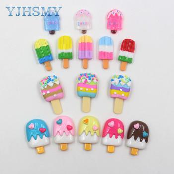 YJHSMY 20312-5 10pcs 28mm * 12mm różne kolorowe ozdoby Lollipop ozdoby ozdoby ozdoby materiały DIY handmade tanie i dobre opinie