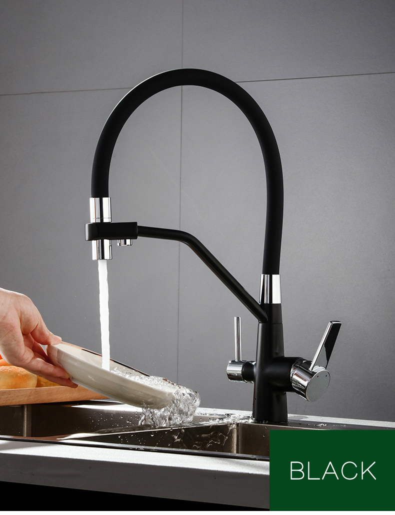 Kitchen Sink Faucet Mixer Pull Down