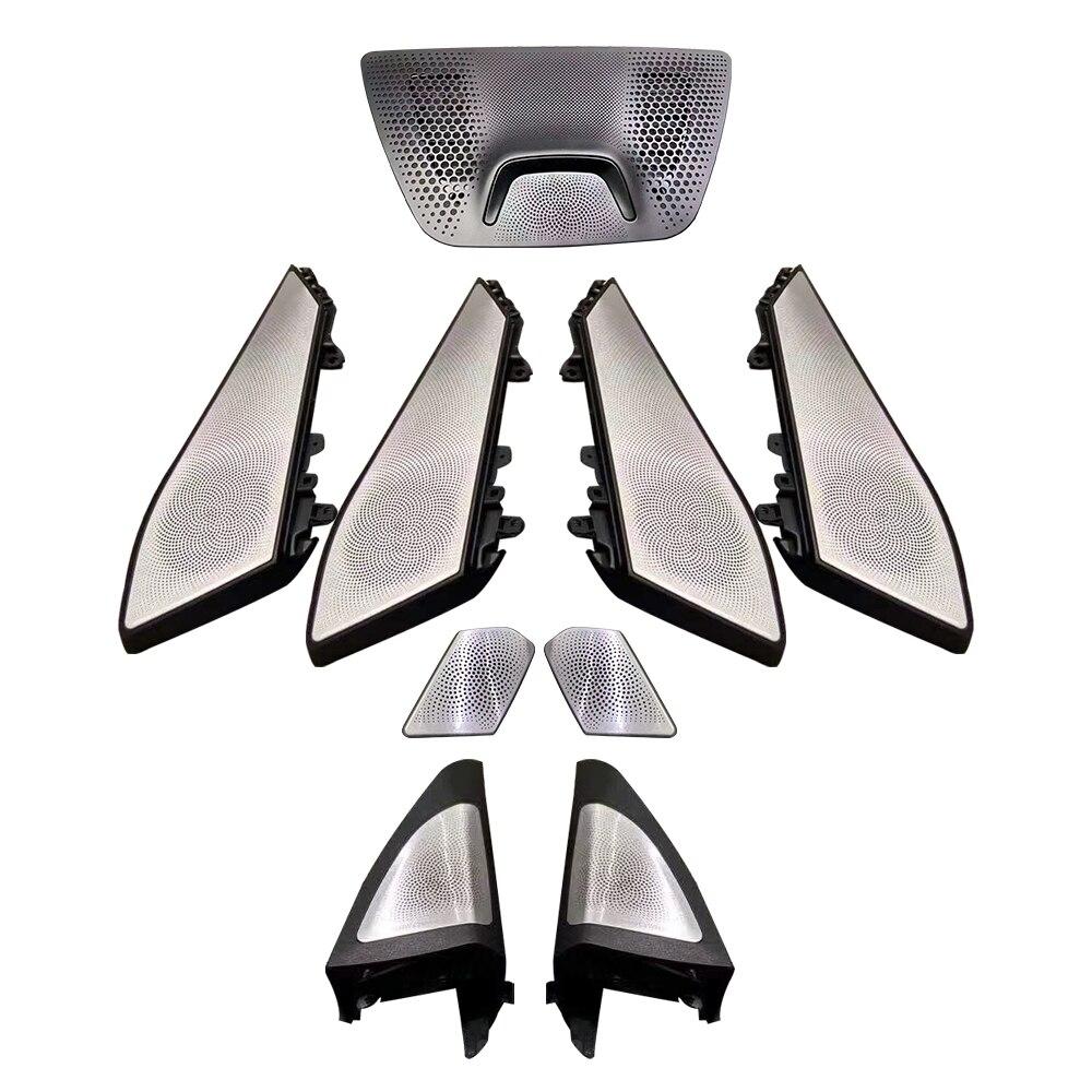ลำโพง LED สำหรับ BMW X5 G05 GLOW โคมไฟทวีตเตอร์ bocinas รถ Luminous Night Vision Ambient Light Horn ฝาปิดชุดอัพเกรดแผงประตู