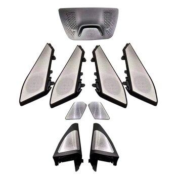 LED speaker for BMW X5 G05 glow lamp tweeter bocinas car luminous night vision ambient light horn lid upgrade kit door panel