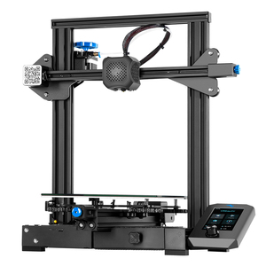 Image 3 - Carte mère 3D Ender 3 V2 avec pilotes pas à pas TMC2208 silencieux nouvelle interface utilisateur et 4.3 pouces couleur Lcd Carborundum lit en verre imprimante 3D