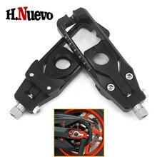 Motosiklet aksesuarları CNC alüminyum zincir ayarlayıcıları gergi Catena YAMAHA Tracer MT09 FZ09 FZ 09 MT 09 FZ 09 MT 09