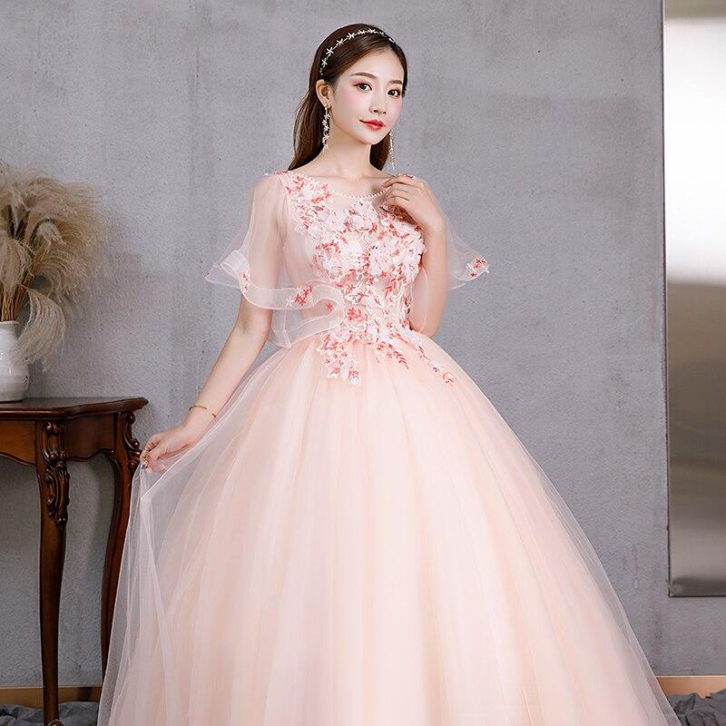 Quinceanera Dress 2021 Luxury New Tulle Masquerade Dress Vestido Debutante Embroidery Applique Ball Gown Vestidos De 15 Anos