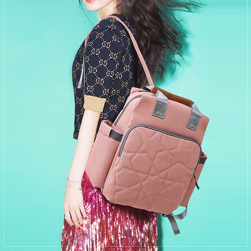 Backpack Diaper bag Travel bag Prints Nursing bag Backpack Mummy bag  Bebe accesorries Potable