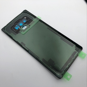 Image 3 - Note9 عودة الزجاج قطع غيار سامسونج غالاكسي ملاحظة 9 N960 N960F N960P SM N960F البطارية غطاء الباب الخلفي الإسكان حالة