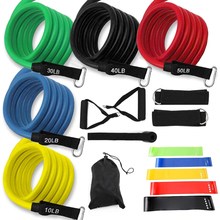 Rubber Expander Pull-Rope Latex Elastic-Bands Yoga-Tubes Exercise Fitness Crossfit Training