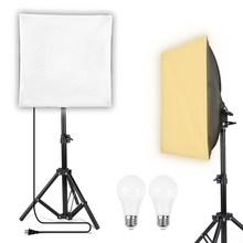 30x30cm mini softbox led iluminação kit fotografia equipamentos 68cm ajustável suporte da lâmpada para jóias desktop tiro itens pequenos