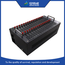 Antecheng heißer verkauf 32 ports usb gsm modem pool MTK M35 modem unterstützung IMEI ändern senden/receving