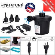 Ücretsiz kargo ab tak elektrik hava pompası DC12V/AC240V şişirmek pompaları araba şişirme Electropump 3 memeleri ile