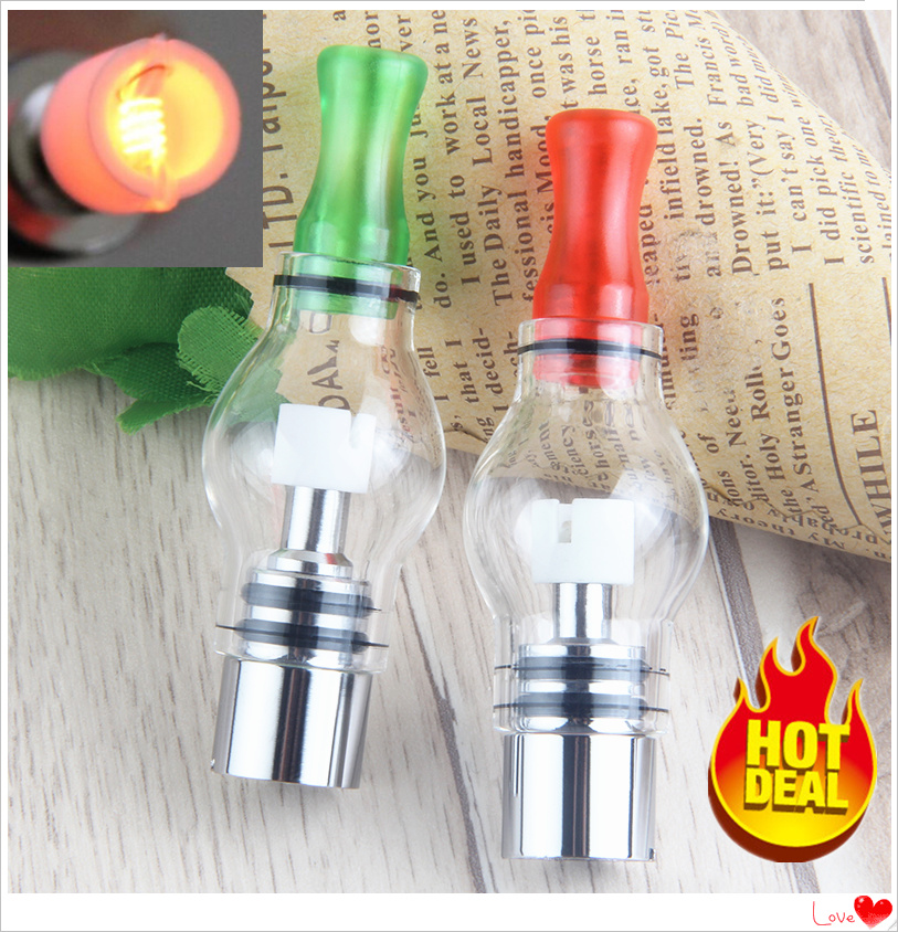 1Pcs Herbal WAX Glass Globe Vaporizer M6 Atomizer Wax Dry Herb Tank 4ml 510 Thread Electronic Cigarettes E Cigs For Ego T Evod