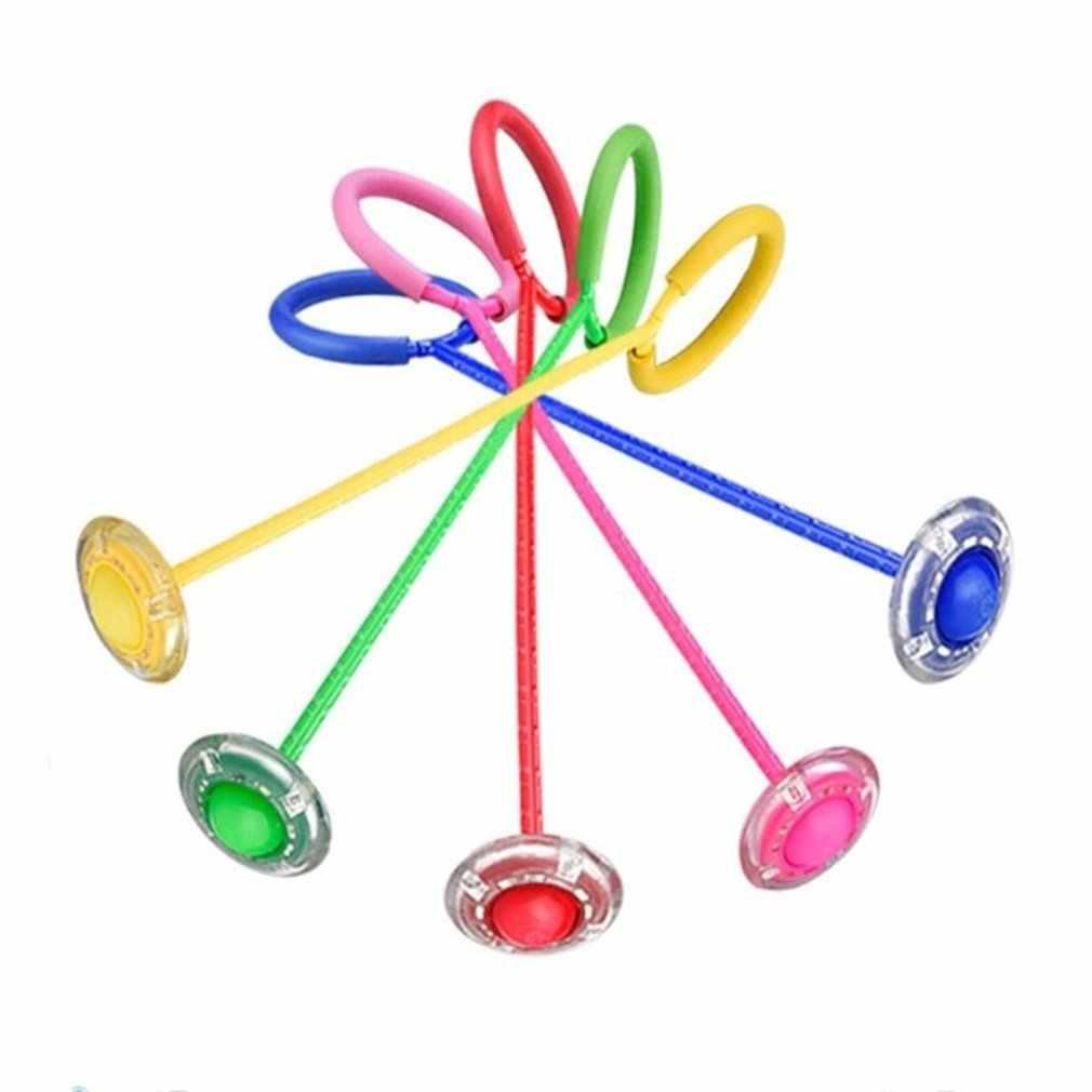 Flash skacząca piłeczka dla dzieci zabawa na świeżym powietrzu sport neutralny plastikowy taniec Hyun Flash rotacja gry dla dzieci i rodziców