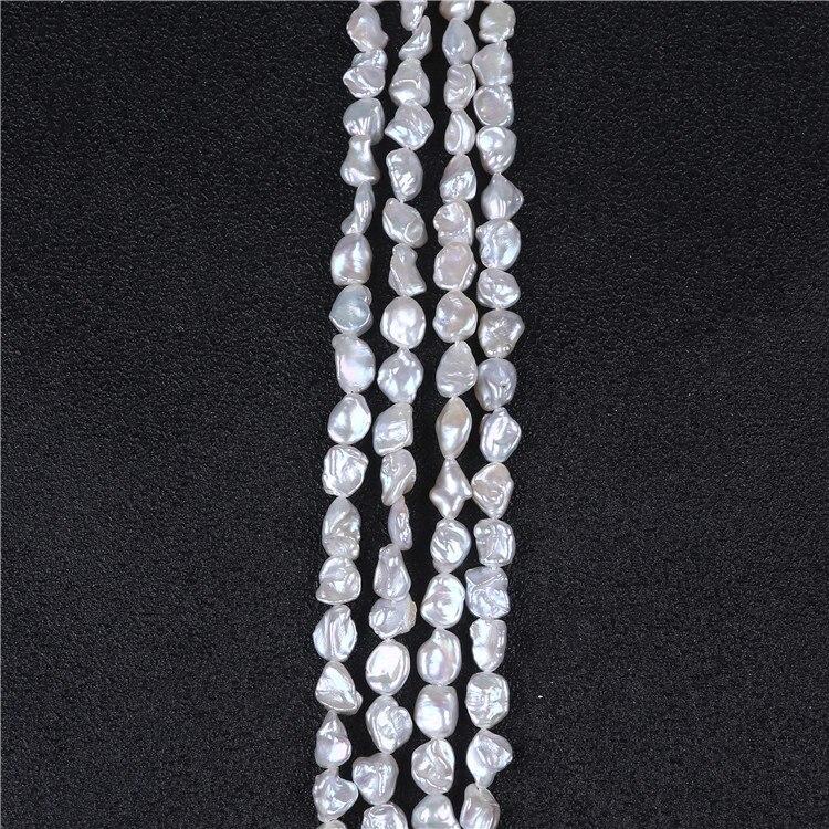 Горячая Распродажа 7-8 мм keshi жемчужные нити для изготовления ювелирных изделий