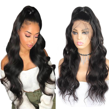 13x4 Body Wave Lace Front Human Hair Wigs Pre Plucked With Baby Hair Allove Brazilian Body Wave Lace Front Wig For Black Women