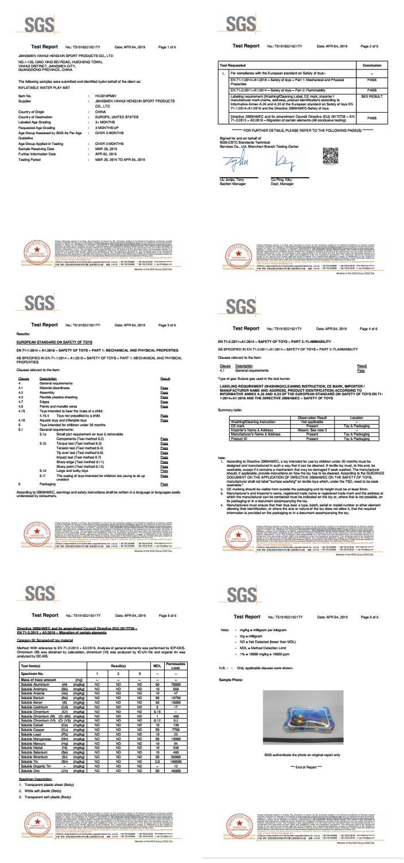 Alfombra inflable de PVC 0-3 años