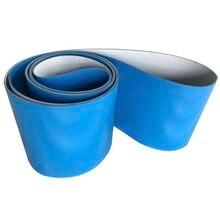 Primeter:2000x100x2 мм синяя пищевая ПВХ холодностойкая конвейерная