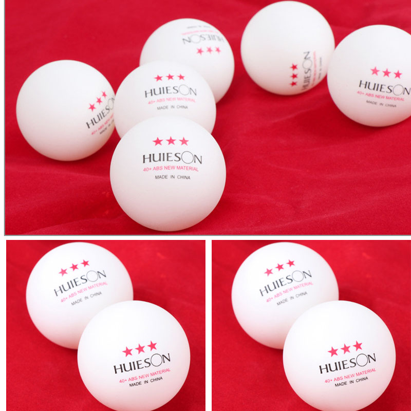 100pcs Huieson Professional Table Tennis Balls 3 Stars 40+ High Quality New Material Table Tennis Ball Trainning Ping Pong Balls