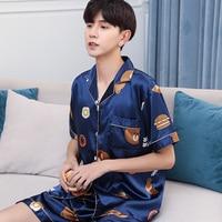 Мужская пижама с шортами 1