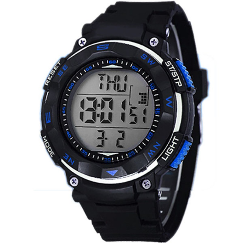 Brand New Style Relojes Boy Men's Waterproof Relogio Sports Watch Big Dial Military Digital Watch
