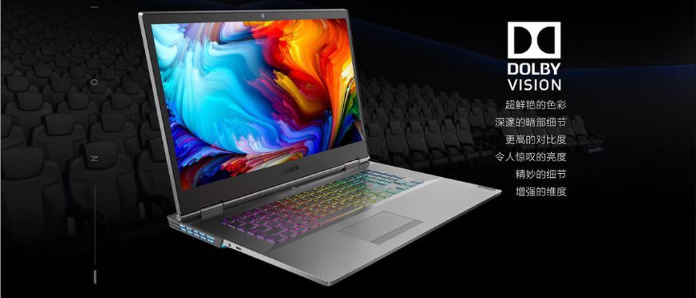 Original Lenovo Healer Gaming Laptop 17.3 Inch Y9000K All Electronics Laptops Lenovo color: BLACK