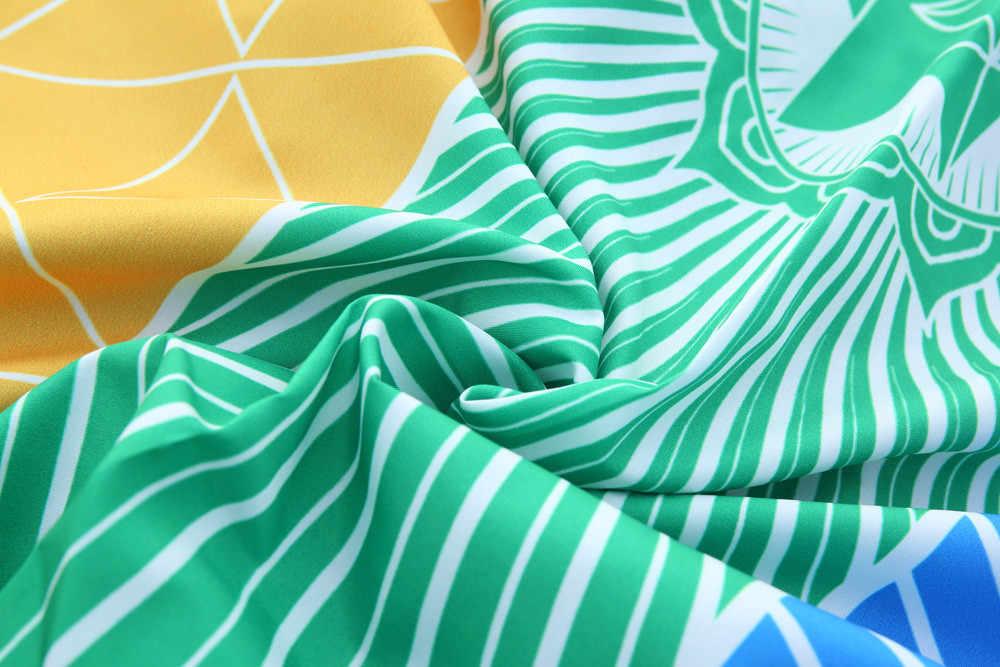 Modna tęcza koc z mandalą wiszące gobeliny ścienne Boho Strip Beach Travel ręcznik lato Tassel kolorowe maty do jogi Decor dywan
