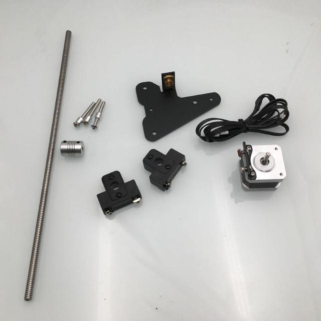 Funssor-kit de mise à niveau pour imprimante 3D, 1 ensemble Creality Ender 3 CR-10, double axe Z, 1 ensemble