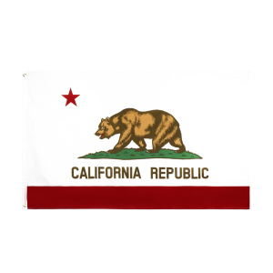 johnin 90*150cm us usa state bear california flag