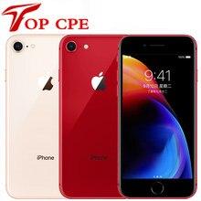 Apple – iPhone 8 et 8 Plus d'occasion, téléphone portable, 3 go de RAM, 64 go/256 go de ROM, Hexa Core, 12mp, iOS Touch ID, 4.7 et 5.5 pouces, 4G LTE, empreintes digitales