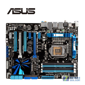 For ASUS P7P55D-E Deluxe Motherboard LGA 1156 DDR3 16GB For Intel P55 P7P55 Desktop Mainboard SATA II PCI-E X16 Used(China)