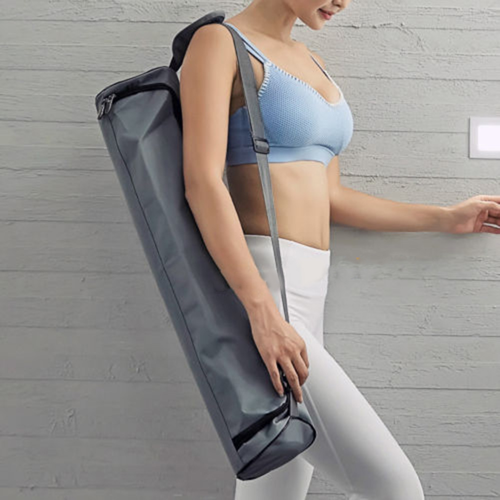 New Yoga Waterproof Shoulder Bag Carry Mat Carrier Oxford Cloth Portable For Sport LMH66