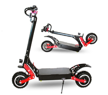 Manufacturer wholesaler 20 AH battery 11 inch two wheel electric folding scooter big capacity 4000w