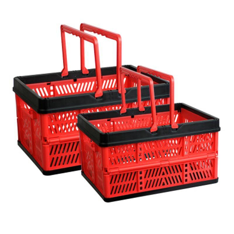 Shopping Basket// Market Basket Shopping Basket Outdoor Portable Picnic Basket Supermarket Shopping Basket Folding Shopping Basket Grocery Shopping Basket Grocery Cart Shopping Laundry Basket