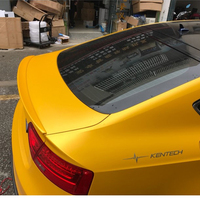 Bota tronco Spoiler Asa Fit para Audi Sportback 4 A5 ABS Porta 2009-2016 Unpainted